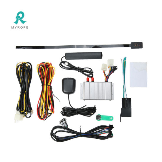 Multi-Functional Fuel/Temperature/AC Detection Spy Vehicle GPS Tracker