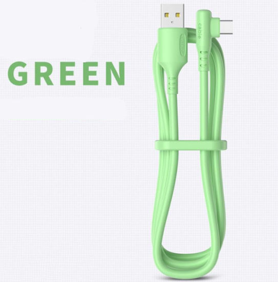 Right-Angle USB Cable for Apple/Android/Type C From Owi China