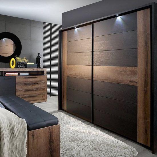 China Modern Design Italian Style Bedroom Furniture Solid Wood Wardrobe China Wardrobes Bedroom Wardrobe