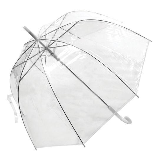 Promotion Gift Poe Plastic Transparent Straight Umbrella China Manufacturer (YZ-20-30)