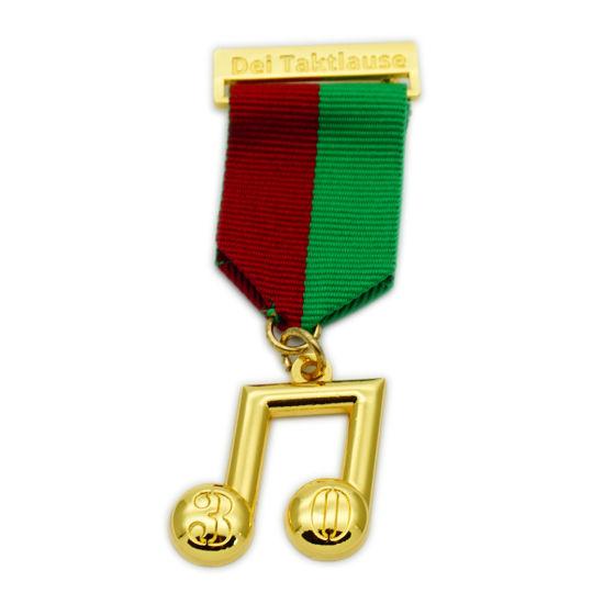 BSCI Factory Souvenir Gold Metal Medallion/Promotion Gift Casting Zinc Alloy Medal/Fashion Gold Medal (FTMC2010)