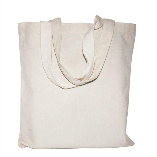 Wholesale Eco Standard Size Reusable Tote Cotton Shopping Nylon Foldable Tote Cotton Canvas Bag