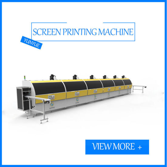 Six Color UV Automatic Screen Printing Machine Bottle Process Printing Press Screen Printer for Glass Plastic Bottles