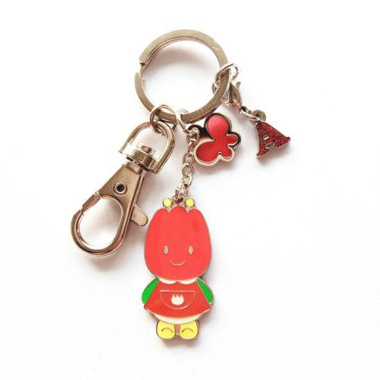 Promotion Custom Metal Kawaii Cute Japan Style Cartoon Japan Anime Keychain