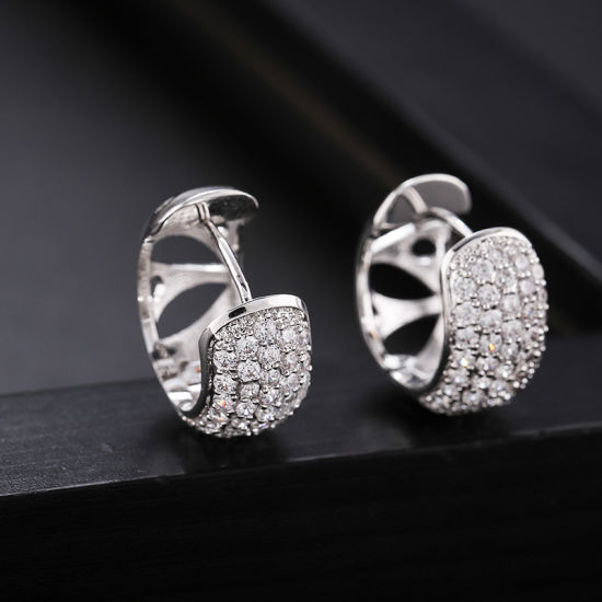 China 2020 Fashion Design Best Selling Copper Plated Gold Earrings Female Geometric Earrings Clip 21 China When Were Earring Made And When Was Pearl Earring Painted Price,Victoria Beckham Designs Wedding Dress