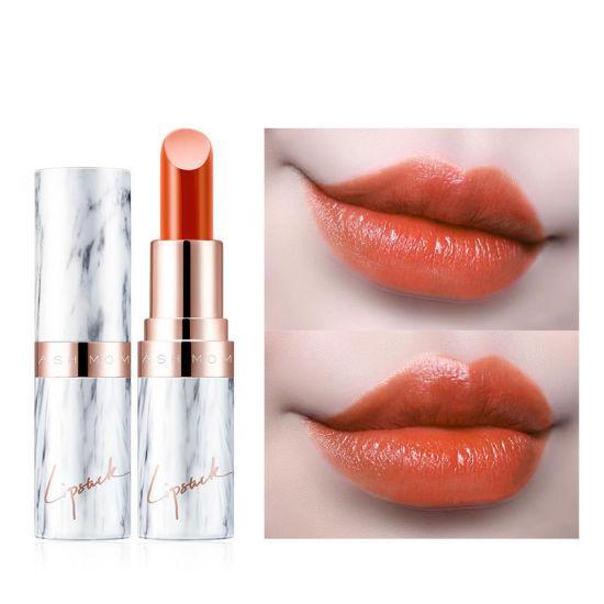Customized Make up Marble Tube Matte Ins Style Lipstick Cosmetics