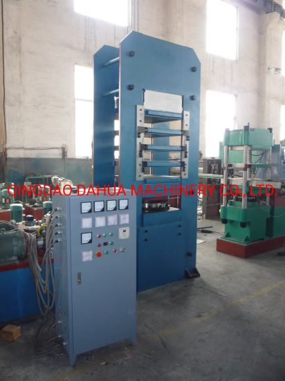 PLC Control Plate Rubber Vulcanizing Press with Ce/ISO