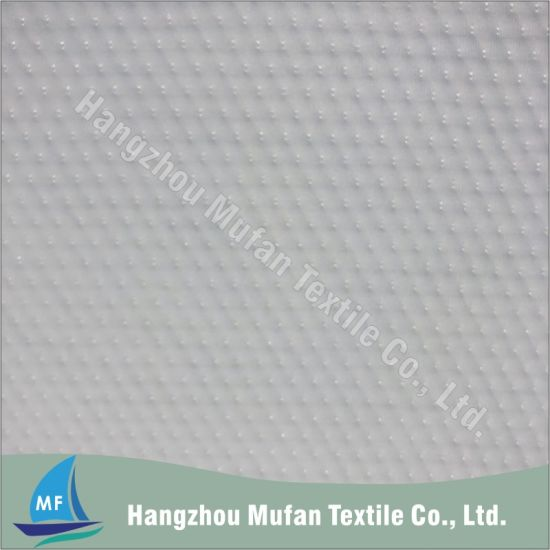 High Quality Spun Polyester Knitted Fabric Latex Pillow Cover Fabric Mattress Fabric