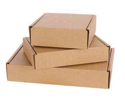 Recycled Corrugated Paper Mail Shipping Box for Clothes Dress Stocks Underwear with Best Price