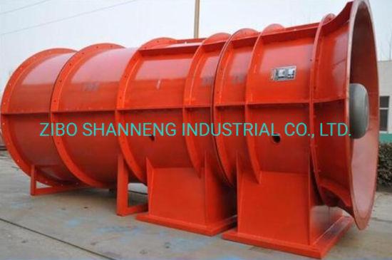 Tunnel Axial Flow Mine Ventilation Fan From The Biggest Factory of China/Jet Fan/Paddy Storage Fan/Boiler Fan/Dedusting Fan/Centrifugal Fan
