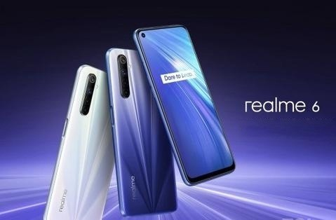 "100% Original Fast Delivery New Arrival Global Version 6GB 128GB Oppo Realme 6 6.5"" Screen Smartphone"
