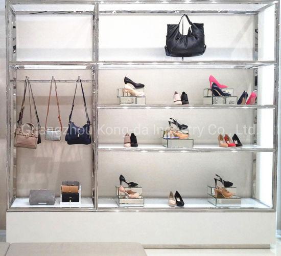 Custom Fashion Acrylic Shoe Display Shelf Wholesale