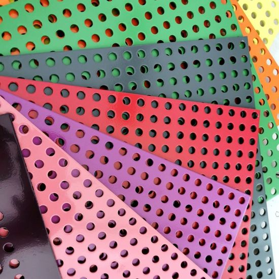 Reasonable Price Aluminum/Galvanized/Stainless Steel Perforated Sheet Metal for Architectural