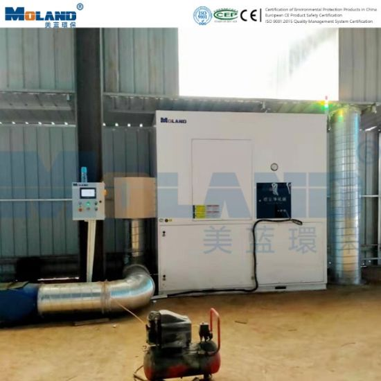 Centralized Smoke and Dust Purification System in Welding Shop