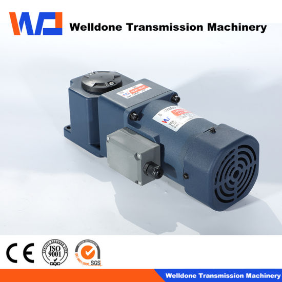 90mm 3-Phase 60W Planetary AC Right Angle Gear Motor Spiral Bevel