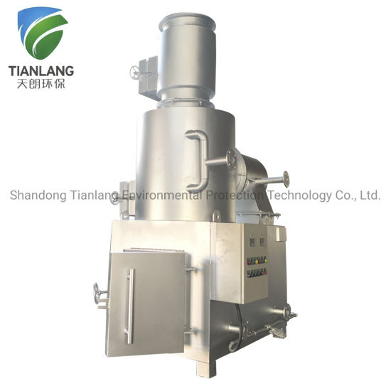 Smokeless Animal Feathers Burning Machine, Poultry Waste Disposal Incinerator, Medical Solid Waste Incineration Treatment Equipment