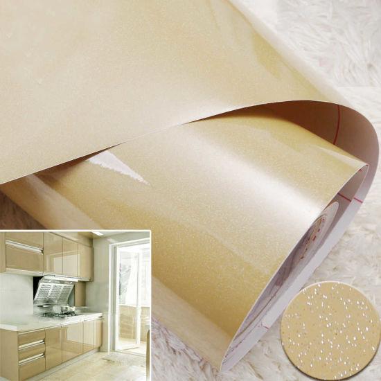 China Vinyl Glitter Wallpaper Contact Paper Self Adhesive Shelf Liner Kitchen Cabinet Liner China Shelf Liner Glitter Contact Paper