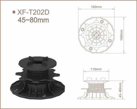Adjustable Float Granite Raised Floor Support Pedestal