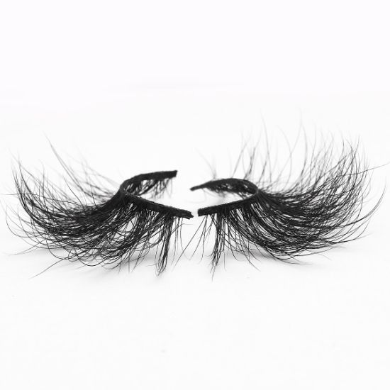 5D Mink Eyelashes False Silk Synthetic Eye Lashes Private Label Custom Packaging Box Faux 3D Mink Lashes