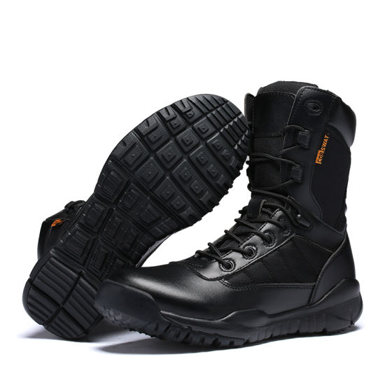 China Men High Ankle Military Boots
