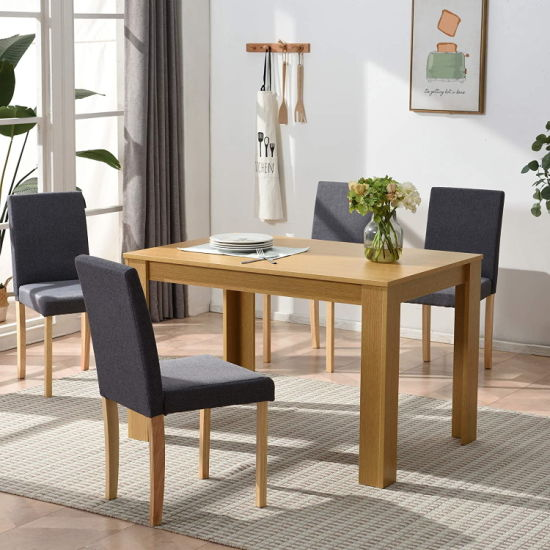 Dining Room Set 4 Seater Table, Dining Room Chairs Set Of 4