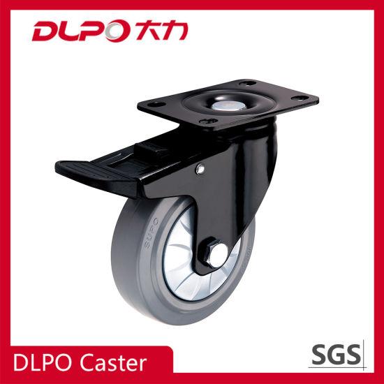 Dlpo Swivel TPR Wheel Material Top Grade Medium Duty Caster