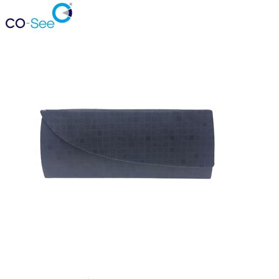 Wholesale Hard Cover Glasses Magnetic Collapsible Eyeglass Case Made by Hand