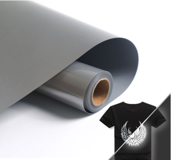 Factory Price Silver Reflective Heat Transfer Vinyl for Shoes