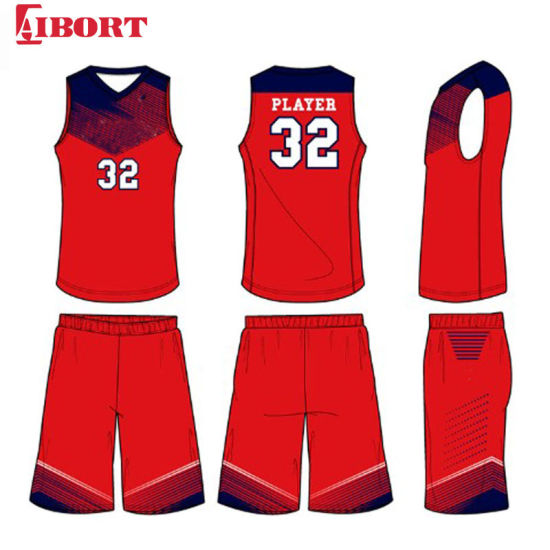 Aibort 2020 Custom Sublimation Latest Design Shorts and Tops Basketball Jerseys (J-BSK014 (1))