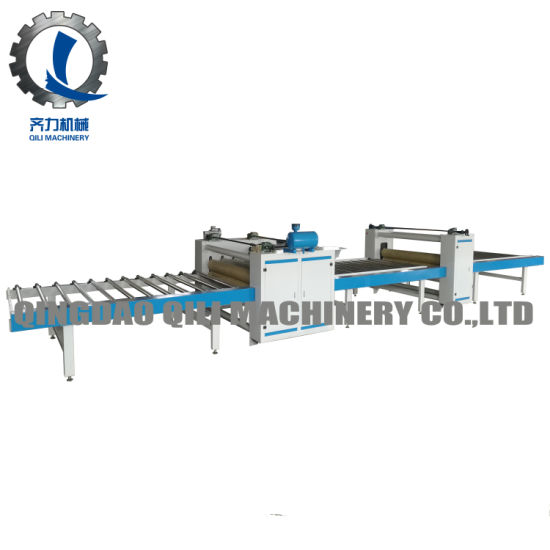 Woodworking PU Paper Laminating Machine for MDF/Plywood Panel