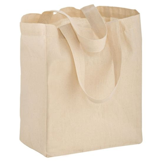 Natural Cotton Tote Heavy Duty Canvas Tote Bags for Shopping
