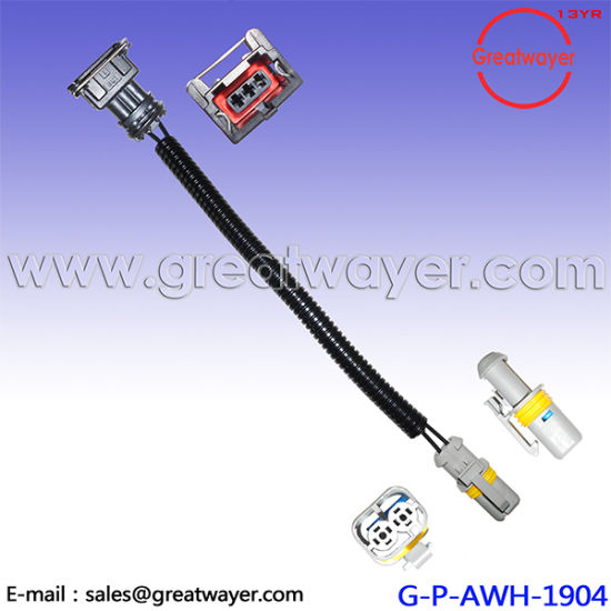 china volkswagen 3 pin connector fuel injector wiring harness rh greatwayer en made in china com GM Fuel Injector Chart GM Fuel Injector Problems