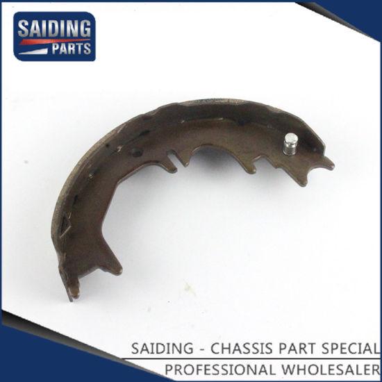 Semi-Metal Car Brake Shoes for Toyota Land Cruiser Fj80 Auto Parts  46550-60020