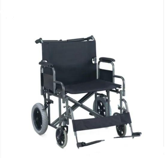 Economy Large Size Heavy Duty Wheelchair 420lbs