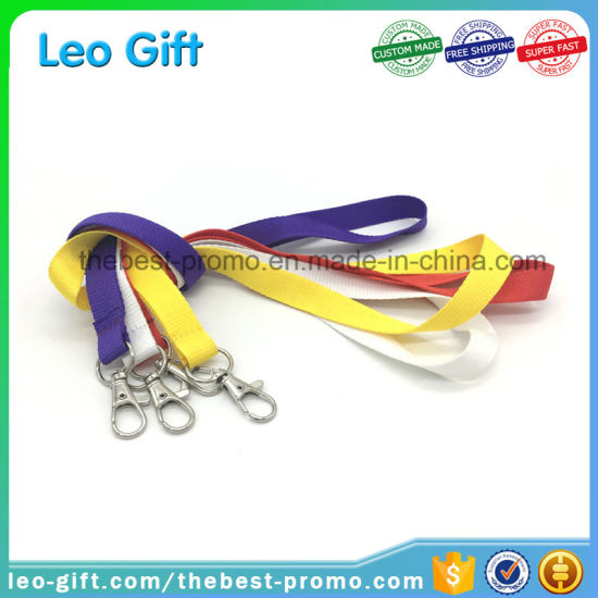 Custom Polyester Silk Screen Printing Lanyard with Safety Breakaway pictures & photos