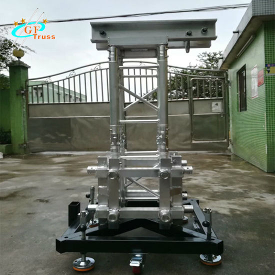 Easy Install Small Concert Sound And Lighting DJ System Stage Truss