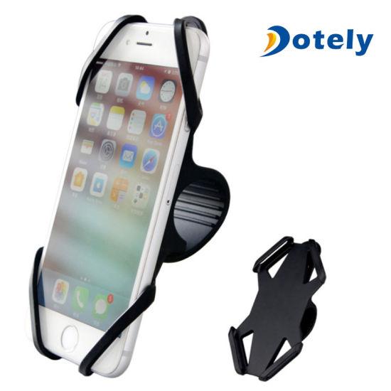 Durable Non-Slip Bike Phone Mount Clamp Versatile for 4 to 6inch Smartphones