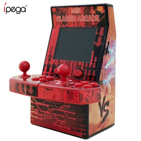 Upgraded Mini Classic Arcade Game Cabinet Machine Double Joystick Retro Handheld Player with Built-in 183 Games pictures & photos