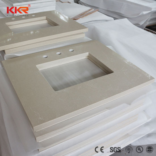 China Artificial Stone Corian Acrylic Solid Surface Vanity Top for ...