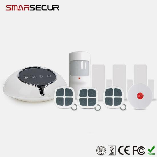Smarsecur 3G/GSM/SMS 433MHz Smart Home Burglar Alarm for Home Security