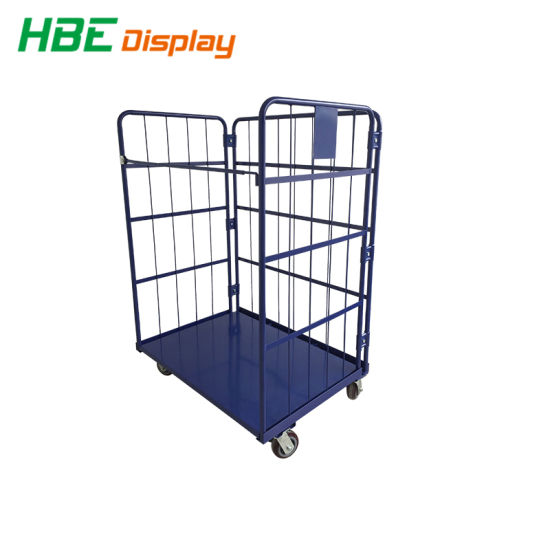 Supermarket Warehoues Storage Container Roll Cage  sc 1 st  Suzhou Highbright Store Fixtures Co. Ltd. & China Supermarket Warehoues Storage Container Roll Cage - China Roll ...