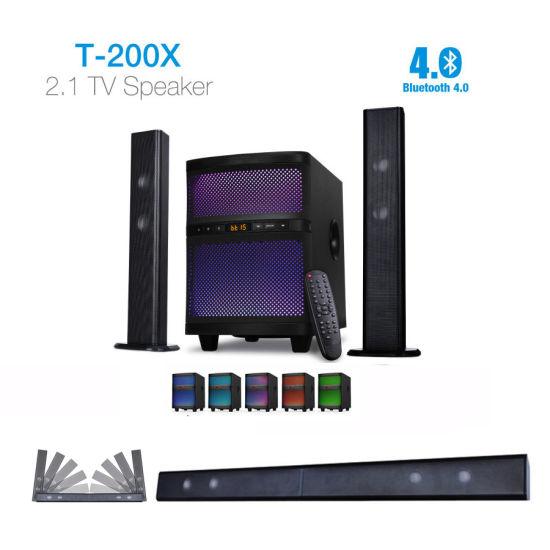T200X Bluetooth 2.1 Home Theater Soundbar Speaker 2018 New Arrival