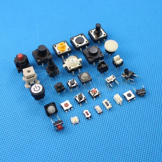 Momentary 4 Pin PCB Tact Button Switches 12 x 12 x 4.3 mm