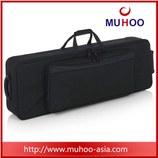 Rolling Trolley Case Instrument Carry Bag for Keyboard/Eletric Piano