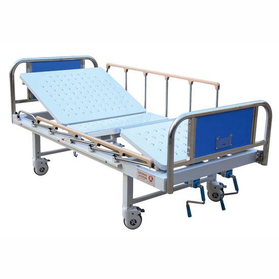 Sk042-3 Metal Large Hospital General Sick Bed