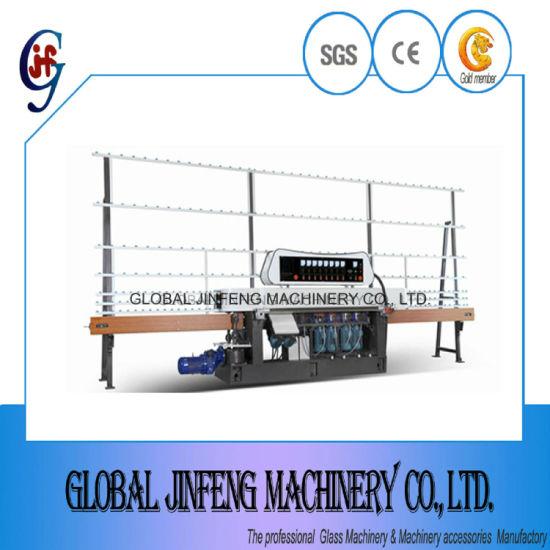 Hot Sale 8 Motors Glass Straight Line Edge Grinding Machine (JFE-8242)