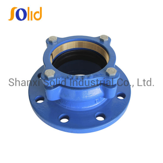Di Restrained Flange Adaptor for HDPE Pipe