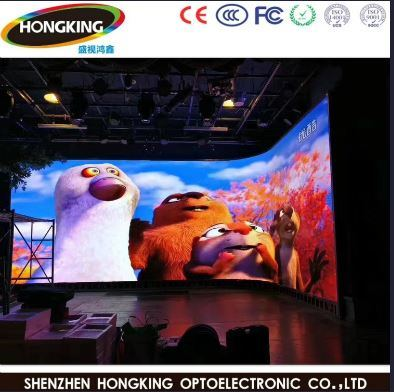 P3.91 High Definition Full Color Rental LED Display for Stage Show