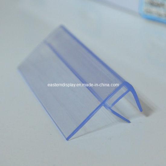 Plastic Shelf Talker for Glass Shelf (DS-1022)