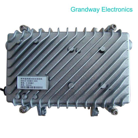 Optical Receiver -4output-860M-220V (GW-SOR706)